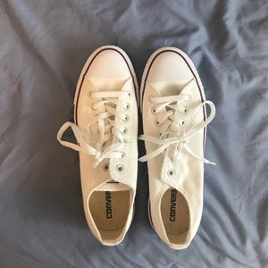 NWOT White Converse All Stars